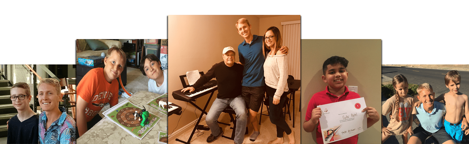 Eric Rinehart's offers mobile piano lessons in your home. For those in Orange County, you are in luck to a new breakthough piano method known as Simply Music offered in the comfort of your own home.